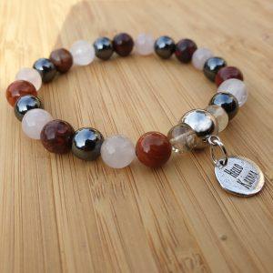 bracelet anti stress lithothérapie détails