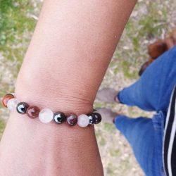 bracelet anti stress lithothérapie