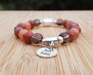 chakra racine bracelet lithothérapie