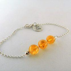 bracelet chakra du plexus solaire fin