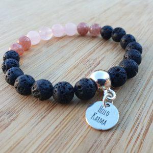 bracelet équilibre harmonie lithothérapie