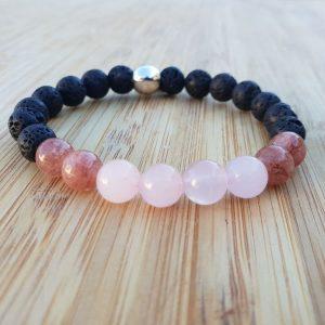 bracelet lithothérapie equilibre harmonie