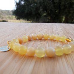 Lithothérapie plexus solaire opale jaune