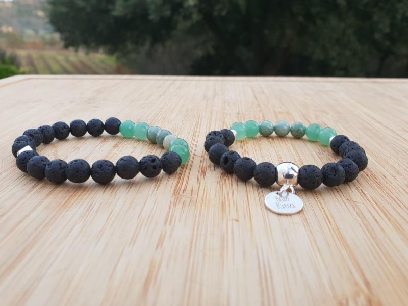 achat original gamme exclusive attrayant et durable Duo de Bracelets Amoureux - pour les relations longue distance