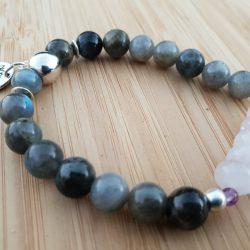 bracelet anti stress lithothérapie labradorite