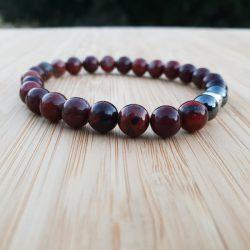 lithothérapie home chakra racine bracelet