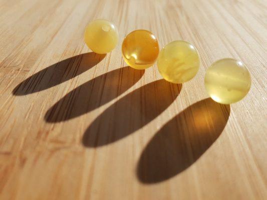 opale jaune vertus