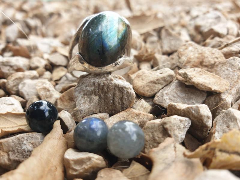 pierre de protection labradorite